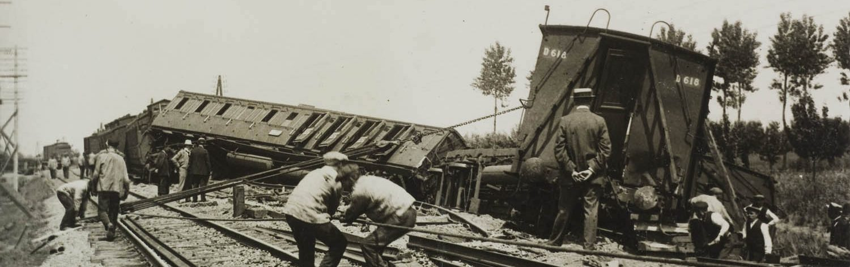 Ontsporing koninklijke trein 1917